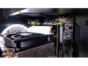 X99Z V102 VRM cooler Fan Duct for ARCTIC Freezer 34