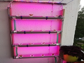 Open Source Hydroponic with smart aquarium