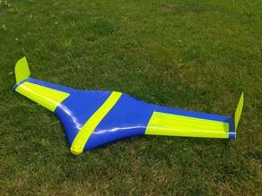 Flying Wing Buratinu - large parts