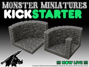 Curved Crypt Walls - KICKSTARTER is LIVE!