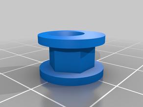 A simple eccentric for a 4mm spack screw to hang or fix pictures - einfacher Exzenter für eine 4mm Spackschraube zum Aufhängen bzw. Befestigen von Bildern