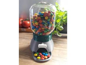 Nutella Glass Candy Dispenser