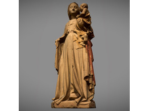 Standing Virgin with Child