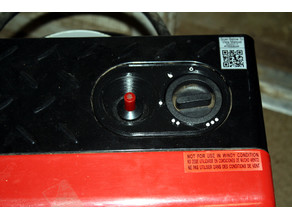 Control Panel for ProTemp PT-18-PCH-A Propane Heater