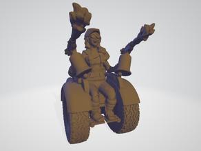 Post Apoc Wheelchair Mechanic