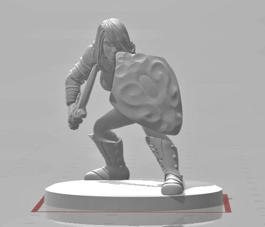Gladiator, Female 4