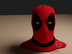 Deadpool Bust Pen Holder (Multi Material Version)