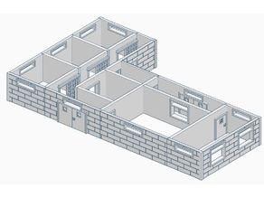 TWD Prison ground floor 28mm
