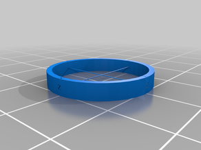 XYZ Ring (test pour imprimante Solidscape)