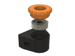 Z-Spindel Kugellager Halter / Z-Spindle Ball Bearing Mount
