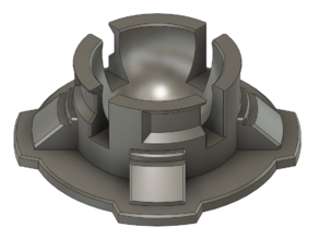 QuadLock-compatible ball mount