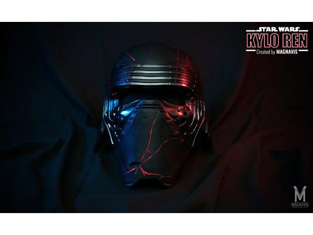 Kylo Ren Helmet The Rise Of Skywalker Reforged Version By Magnavis Thingiverse
