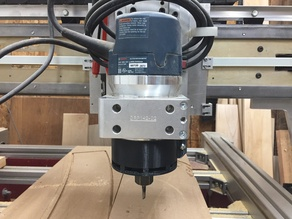 CNC Router Directional Baffle