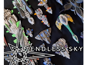 Endless Sky Starship Collection 1:2000 Scale