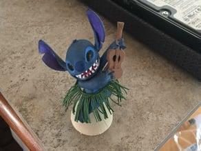 Stitch hula ukulele Bobble-head
