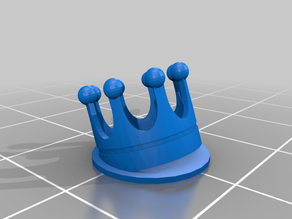 Tilted crown test object