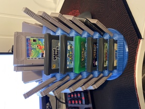 Game Boy Cart Storage Tower / Display Stand (Advance and DMG)