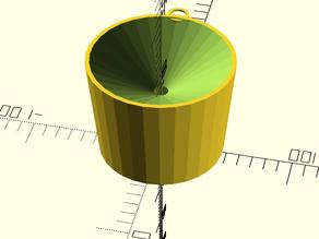 Cup straw-feeder