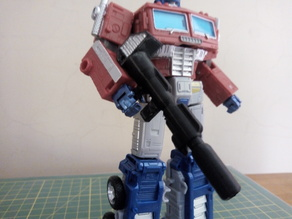 Transformers Earthrise 5mm compatible Ion Rifle for Optimus Prime