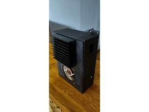 Taz 5 SKR 1.4 / TFT35 Electronics Enclosure w/ LM2596 and Relay Mounting