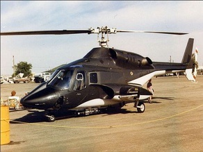 Airwolf Model Bell 222A Multi-Part