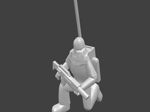 Hosytian Guardsman, Kneeling Radioman