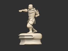 Guild Hero Statues x6