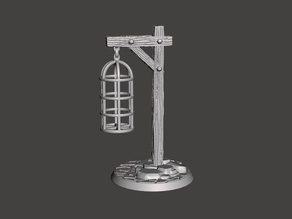 28mm -  Sheffield Gibbet - Medieval England