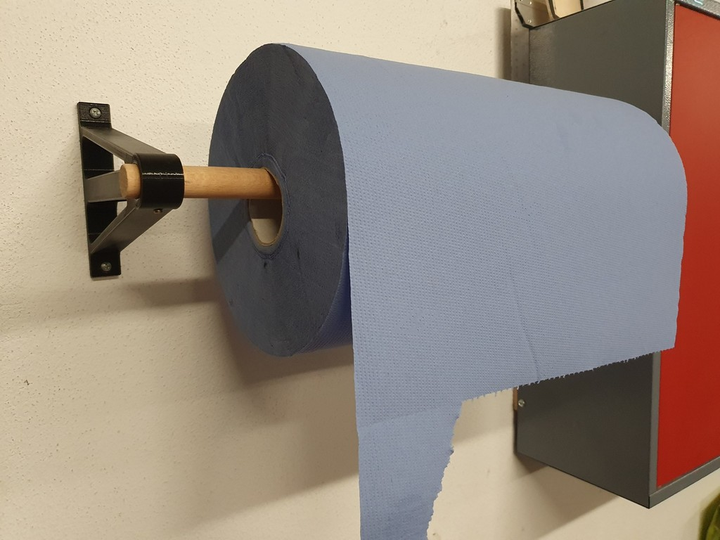 Cleaning paper holder