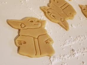 Baby Yoda Cookie Cutter