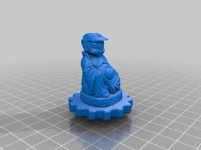 Master Chief Buddha Extruder Knob