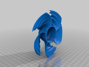 Coarse Waveform CPU Fan