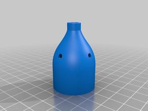Igorf2 3D Printed Articulating Led Lamp Remix