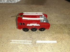 Matchbox Lesney #63 Foamite Crash Tender Diecast Accessories