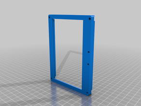 "5"" Monitor touch holder for Anet A8 v1.0"