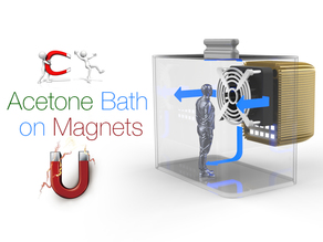 Acetone Bath With Magnets