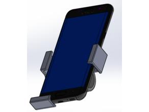 Mobile phone holder for bicycles (Handyhalter für Fahrrad)