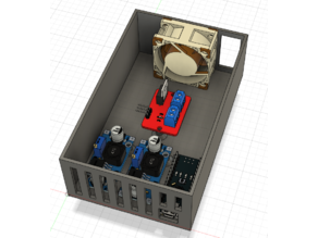 Temperature controller box for 3d printer enclosure