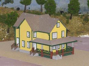 HO Scale A Christmas Story House