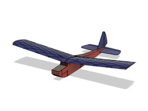 Telemaxos Rc airplane   (trainer)  Easy to flight