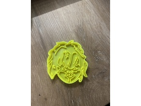 Chucky Cookie Cutter And Stamp