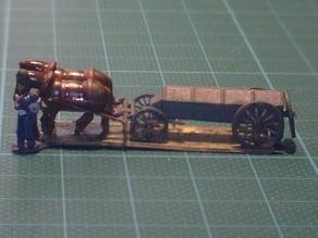 Napoleonics -  French  Ammunition-Wagon