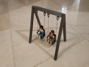 Playmobil playground swing