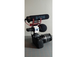 H1n Audio recorder shock mount with could shoe mic mount & variants for vlogging and dslr video
