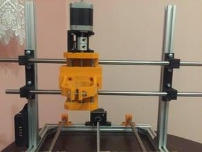CNC 3018 rod mount