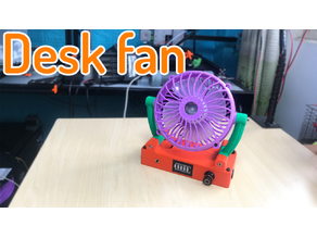Desk Fan cute
