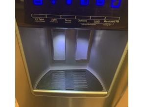 Fridge Water / Ice Dispenser Tray - Whirlpool V2