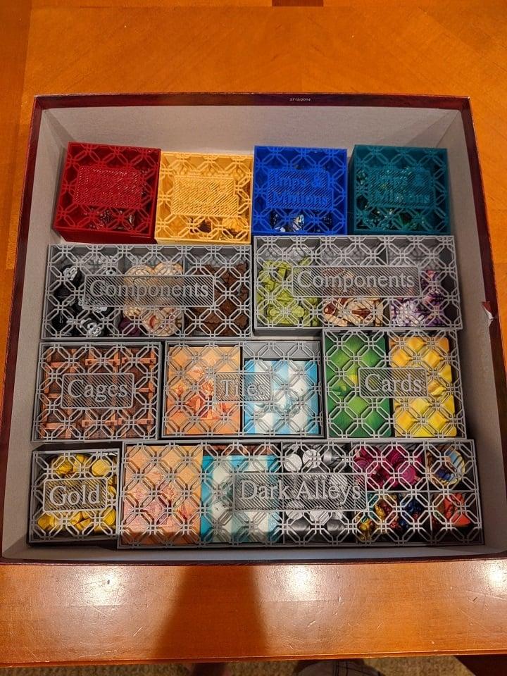Dungeon Petz Boardgame Insert