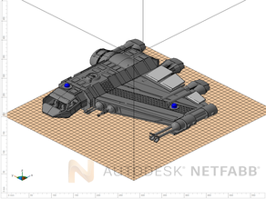 MCB-LW 1 Axewing Gunship
