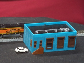 N-Scale Distribution Center